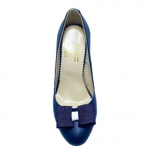 Pantofi BIGA albastru inchis