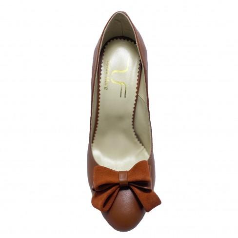 Pantofi CALCE coniac
