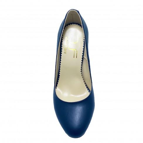 Pantofi CUNA albastru inchis