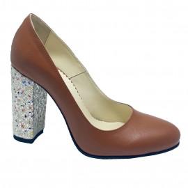Pantofi CUNA coniac