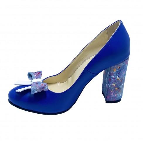 Pantofi FIGA albastru electric