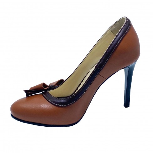 Pantofi MEDILLINA coniac