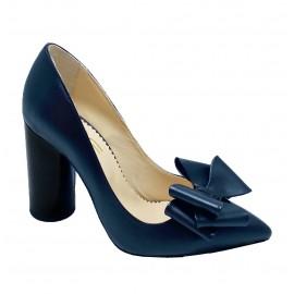 Pantofi SINA albastru inchis
