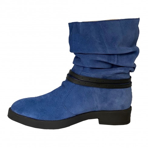 Botine LYA albastru