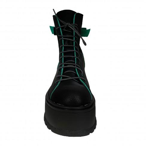Ghete ROXANA negru verde