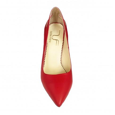 Pantofi FRESIA rosu