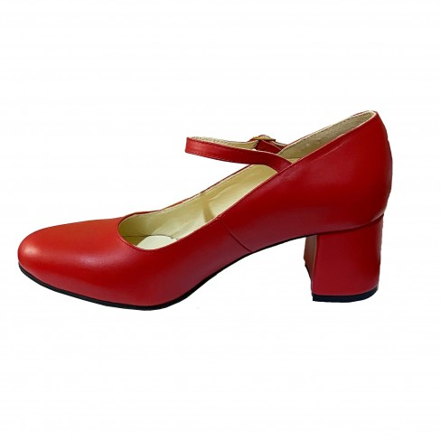 Pantofi SONAGLI rosu