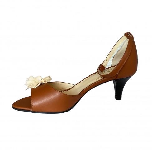 Sandale ALESIA coniac