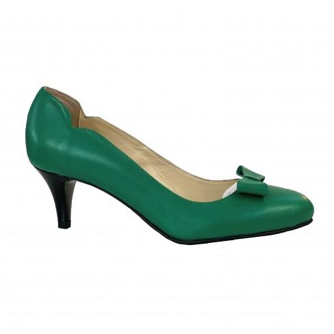 Pantofi EVE verde