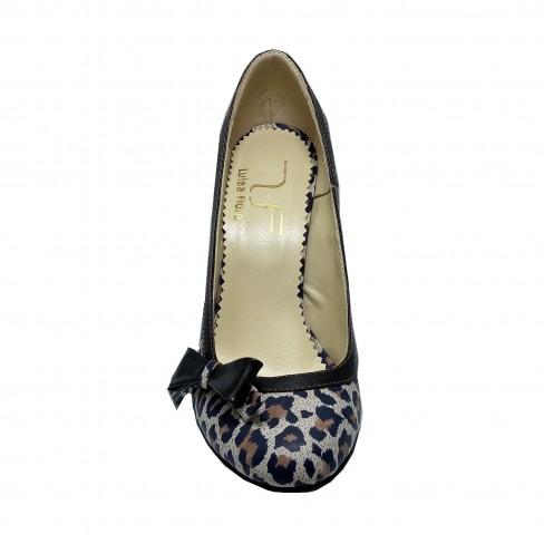 Pantofi NOLY animal print
