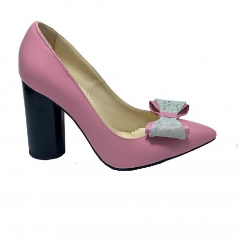 Pantofi ELLE roz