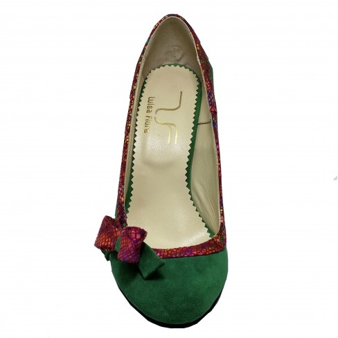 Pantofi NOLY verde