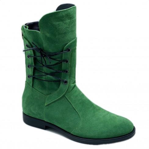 Botine CRISS verde