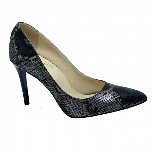 Pantofi INEA negru/gri