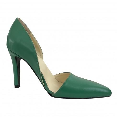 Pantofi TULIPANO verde