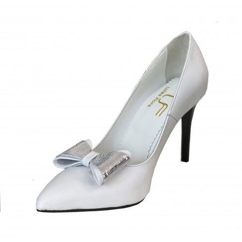 Pantofi BEGNIA alb