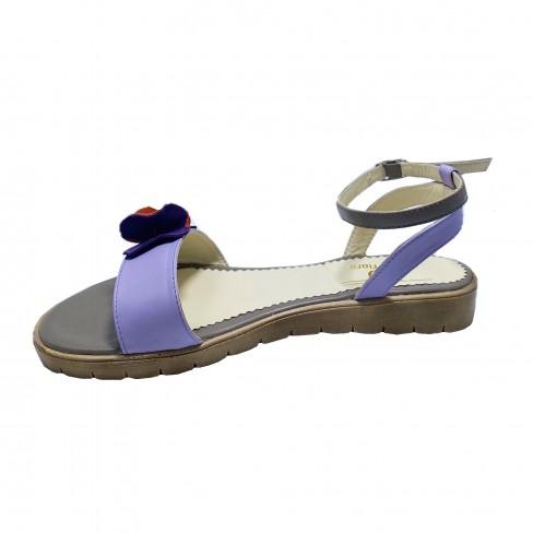 Sandale FIORELA lila gri