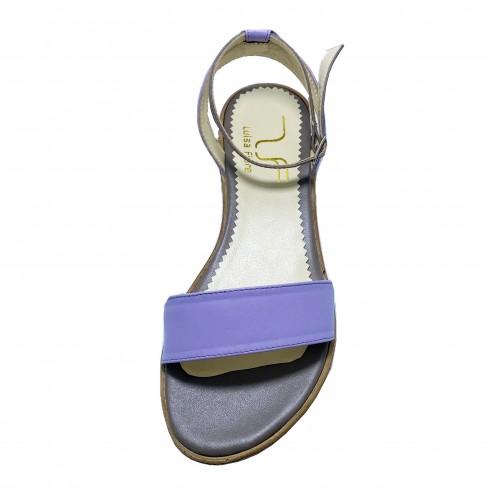 Sandale LUPITA lila gri