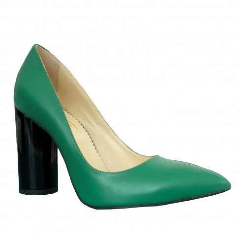Pantofi ISA verde