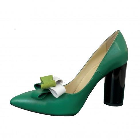 Pantofi GAROFANO verde