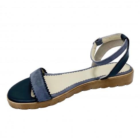 Sandale NESY negru gri