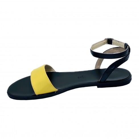 Sandale EMMY negru galben