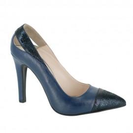 Pantofi FRESIA albastru pigment