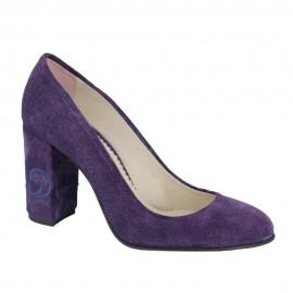 Pantofi NARCISI violet