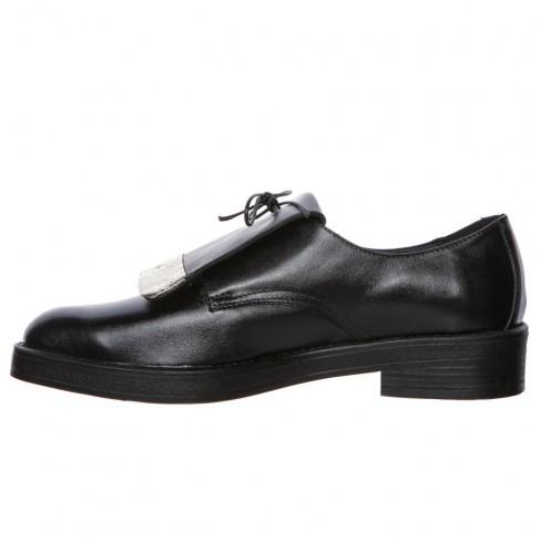 Pantofi FRAGOLA negru auriu