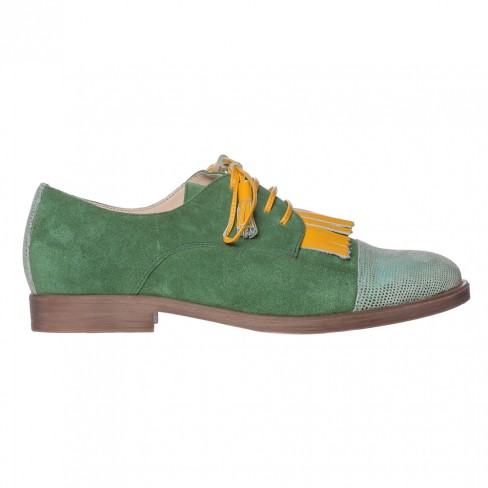 Pantofi GELENIUM verde