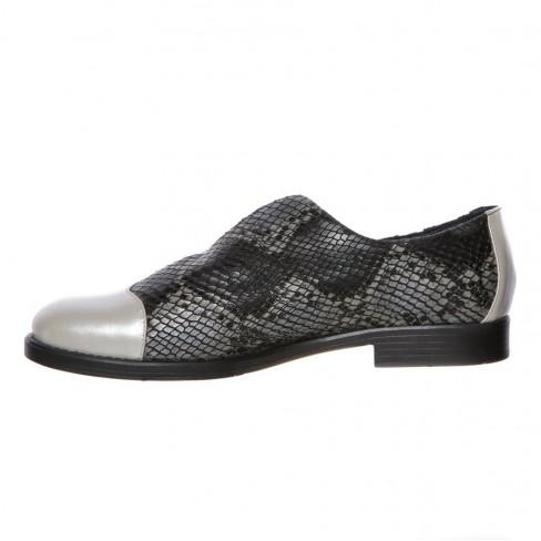Pantofi LILLA negru print