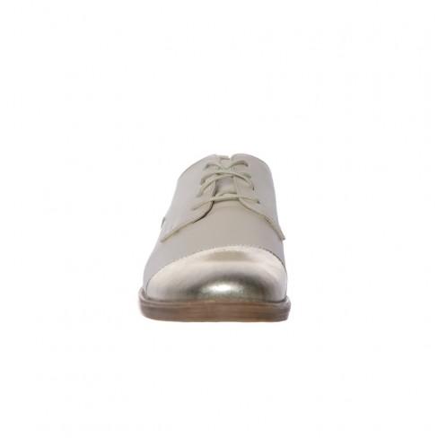 Pantofi MARGARETE bej auriu