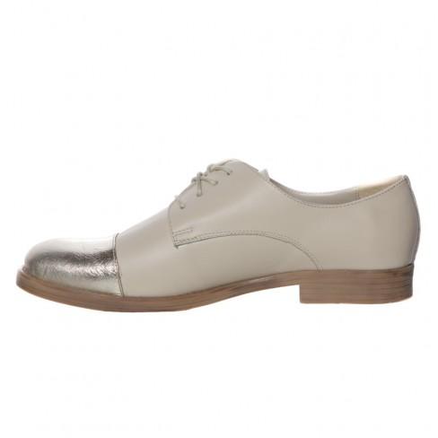 Pantofi MARGATERE bej auriu