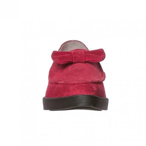 Pantofi CRAITELE rosu cu funda rosie