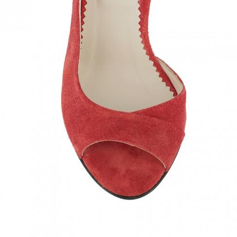 Sandale IRIS rosu