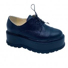 Pantofi IONY negru bizonat