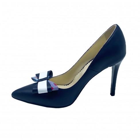 Pantofi DEVI albastru inchis
