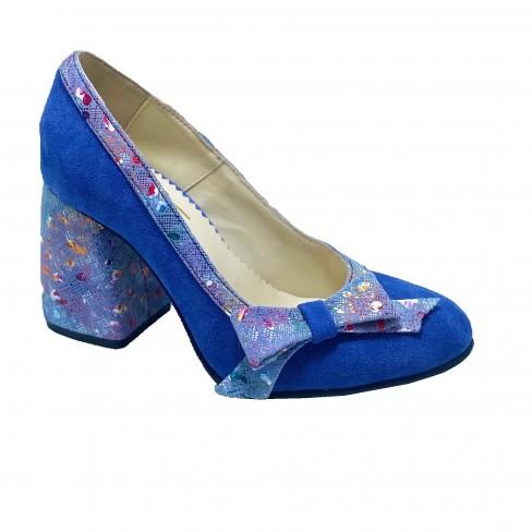 Pantofi NOLY albastru