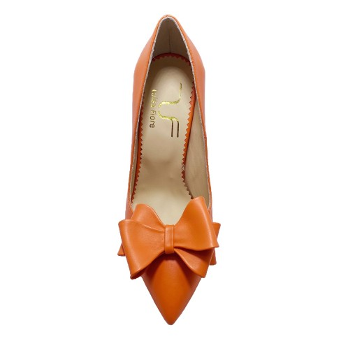 Pantofi SINA portocaliu