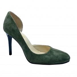 Pantofi PRESTO verde englez