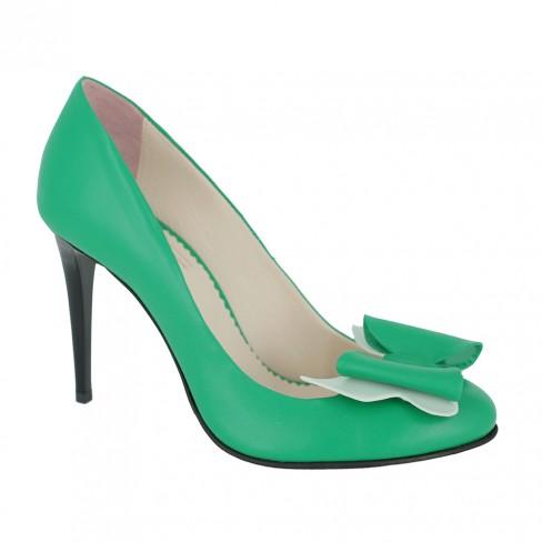 Pantofi VIOLA verde