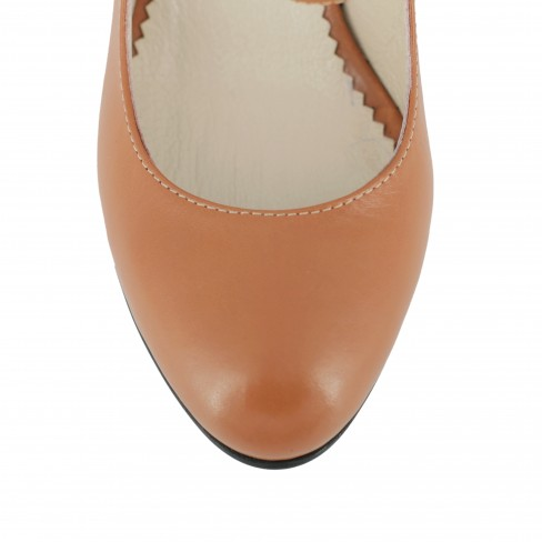 Pantofi SONAGLI coniac