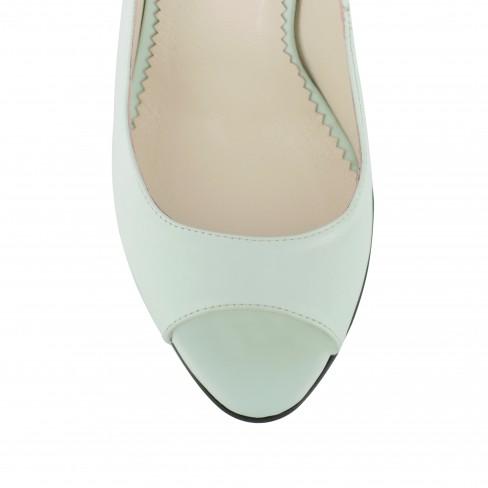 Sandale FORTUNA verde de apa