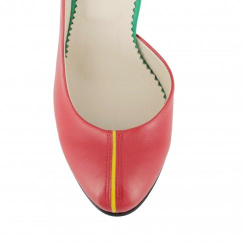 Pantofi PRESTO rosu