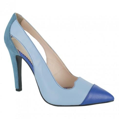 Pantofi HOYA acvamarin