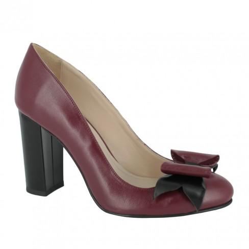 Pantofi ROSA bordeaux