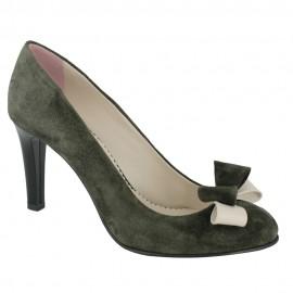 Pantofi FIORE DELLA REGIONE verde