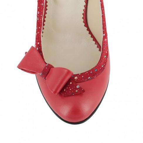 Pantofi MEDILLINA rosu