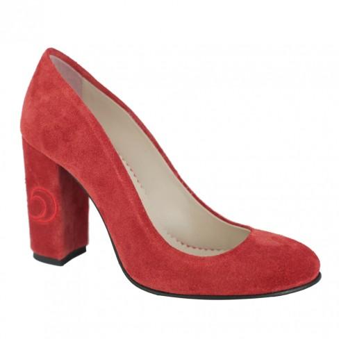Pantofi NARCISI rosu