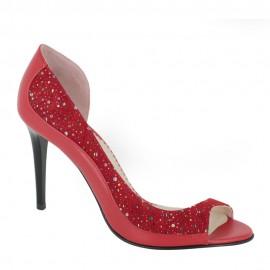 Sandale NERIUM rosu